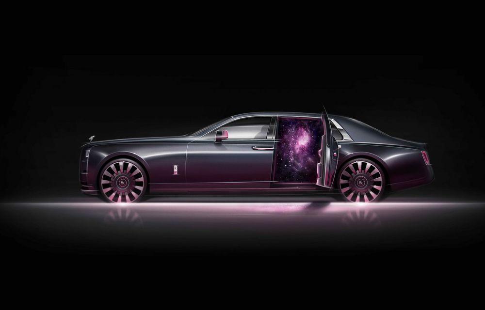 Rolls-Royce Phantom Tempus Collection, limuzină cu un interior inspirat de astronomie - Poza 10