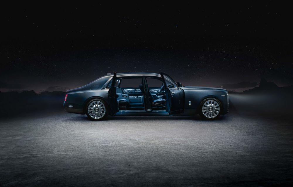 Rolls-Royce Phantom Tempus Collection, limuzină cu un interior inspirat de astronomie - Poza 7