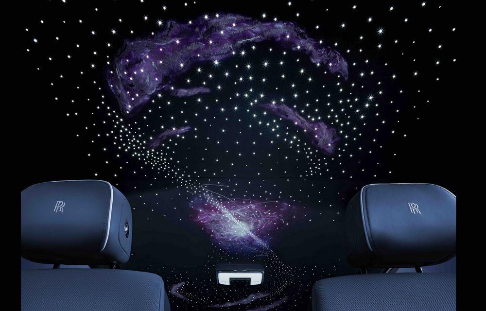 Rolls-Royce Phantom Tempus Collection, limuzină cu un interior inspirat de astronomie - Poza 9