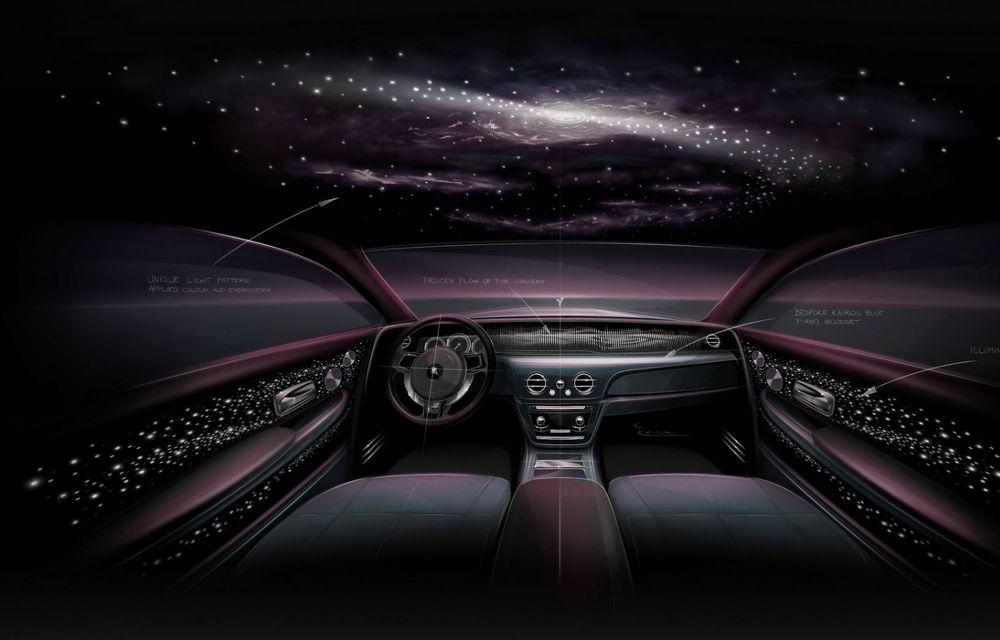 Rolls-Royce Phantom Tempus Collection, limuzină cu un interior inspirat de astronomie - Poza 12