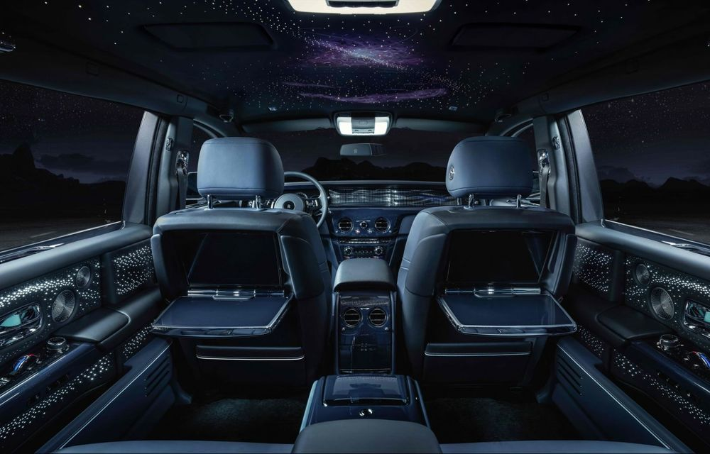 Rolls-Royce Phantom Tempus Collection, limuzină cu un interior inspirat de astronomie - Poza 1