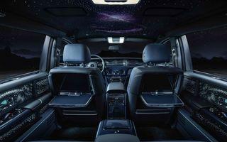 Rolls-Royce Phantom Tempus Collection, limuzină cu un interior inspirat de astronomie