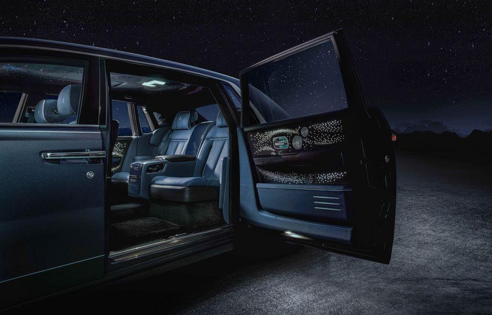 Rolls-Royce Phantom Tempus Collection, limuzină cu un interior inspirat de astronomie - Poza 8