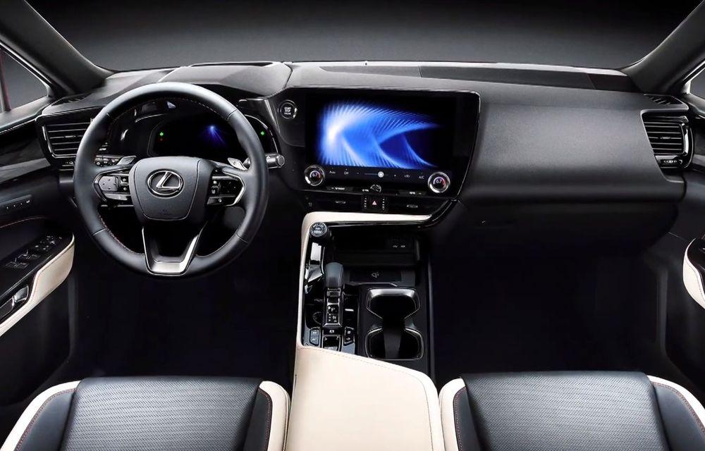 Primele imagini neoficiale cu viitorul Lexus NX - Poza 6