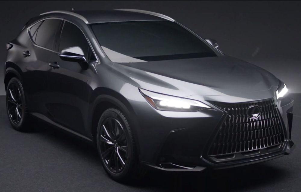 Primele imagini neoficiale cu viitorul Lexus NX - Poza 1
