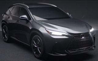 Primele imagini neoficiale cu viitorul Lexus NX