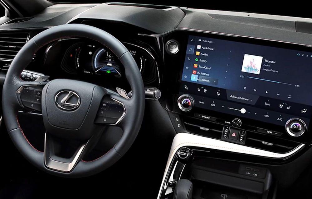 Primele imagini neoficiale cu viitorul Lexus NX - Poza 5