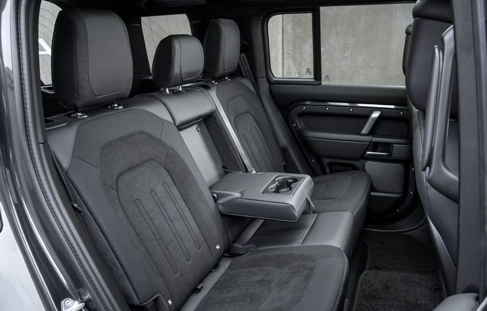 Land Rover Defender a primit un motor V8 supraalimentat. Unitatea dezvoltă 525 de cai putere - Poza 48