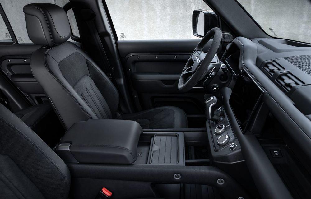 Land Rover Defender a primit un motor V8 supraalimentat. Unitatea dezvoltă 525 de cai putere - Poza 43