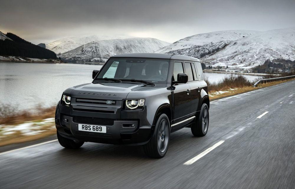 Land Rover Defender a primit un motor V8 supraalimentat. Unitatea dezvoltă 525 de cai putere - Poza 12