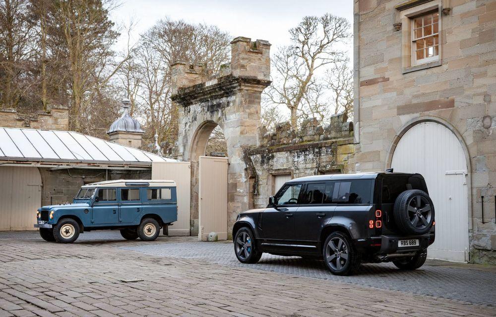 Land Rover Defender a primit un motor V8 supraalimentat. Unitatea dezvoltă 525 de cai putere - Poza 5