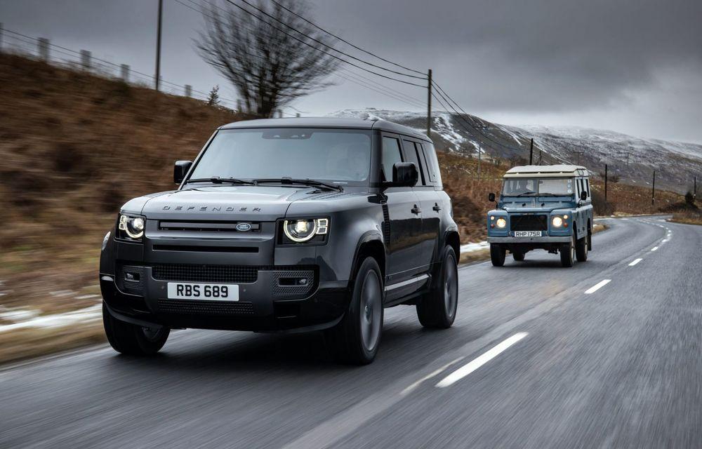 Land Rover Defender a primit un motor V8 supraalimentat. Unitatea dezvoltă 525 de cai putere - Poza 3