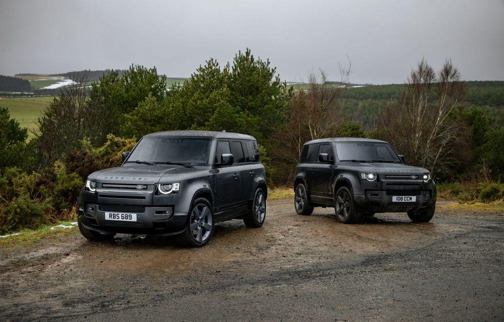 Land Rover Defender a primit un motor V8 supraalimentat. Unitatea dezvoltă 525 de cai putere - Poza 18