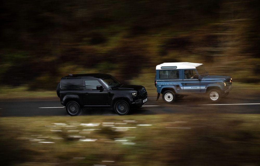 Land Rover Defender a primit un motor V8 supraalimentat. Unitatea dezvoltă 525 de cai putere - Poza 7