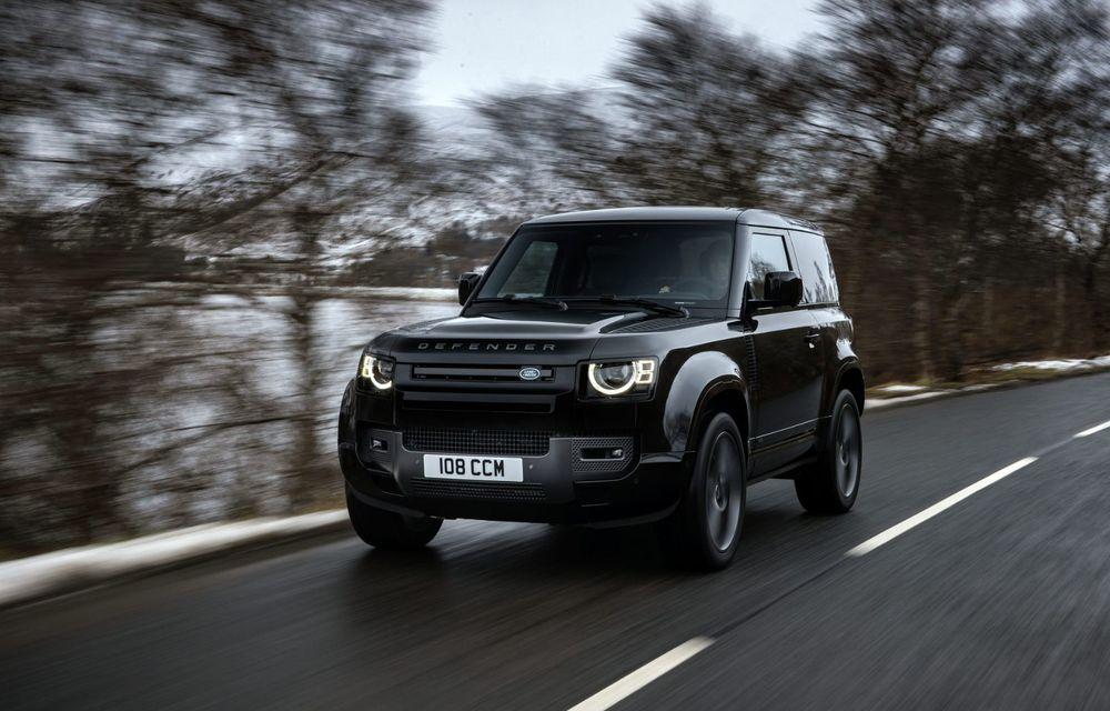Land Rover Defender a primit un motor V8 supraalimentat. Unitatea dezvoltă 525 de cai putere - Poza 1