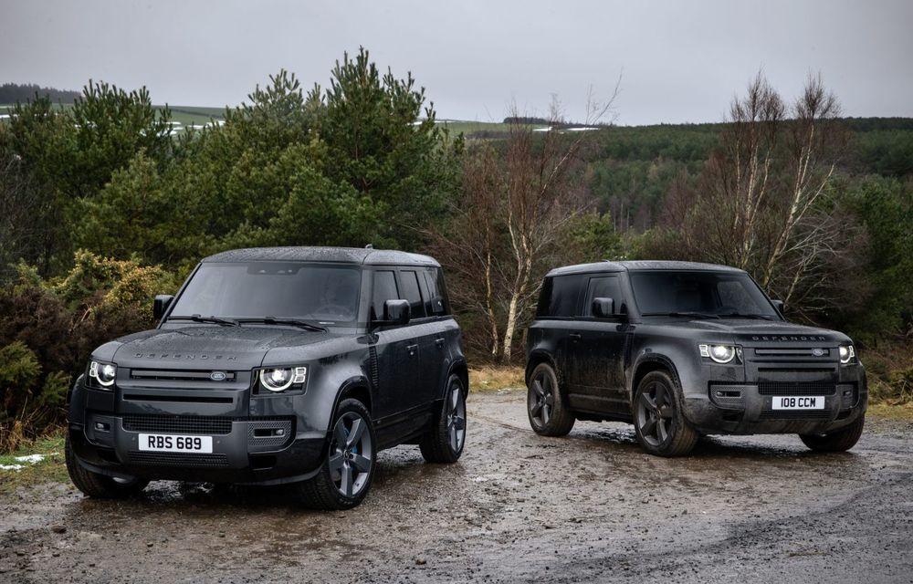 Land Rover Defender a primit un motor V8 supraalimentat. Unitatea dezvoltă 525 de cai putere - Poza 17