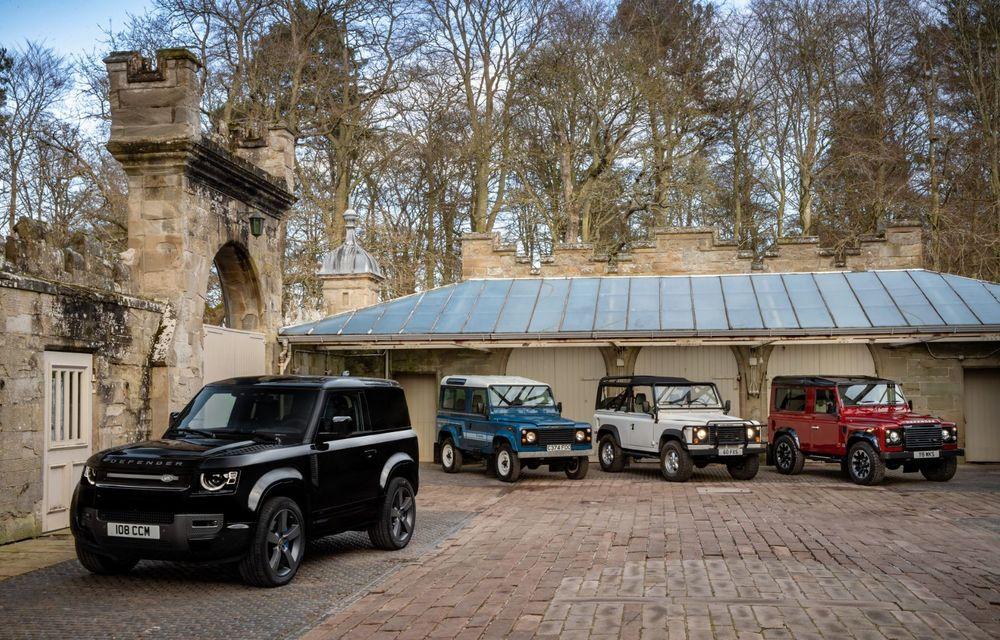 Land Rover Defender a primit un motor V8 supraalimentat. Unitatea dezvoltă 525 de cai putere - Poza 10