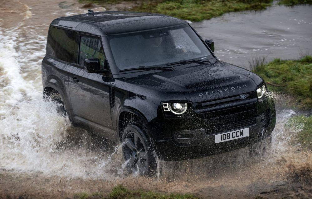 Land Rover Defender a primit un motor V8 supraalimentat. Unitatea dezvoltă 525 de cai putere - Poza 30