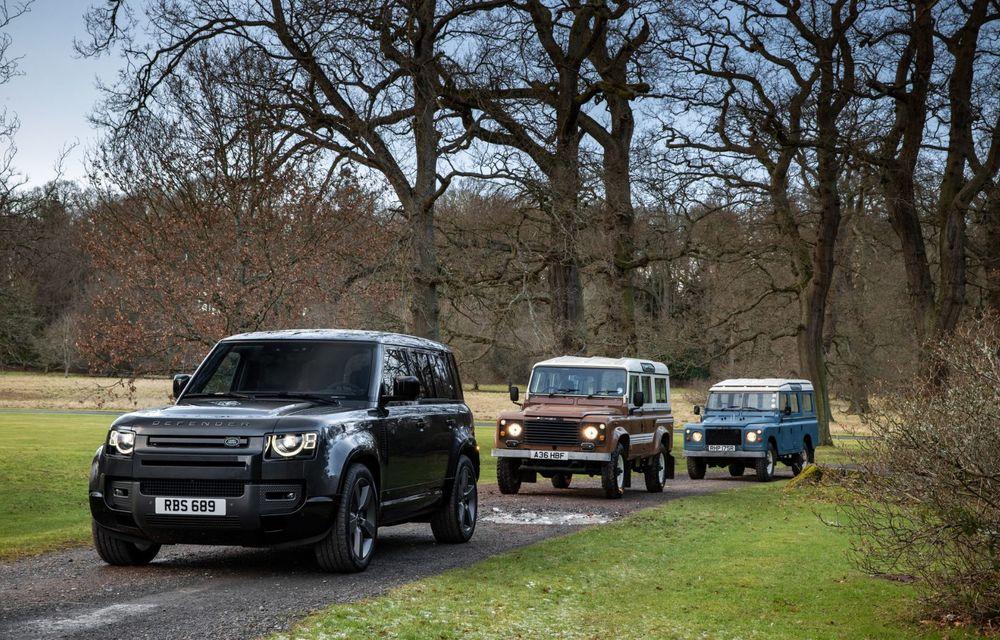 Land Rover Defender a primit un motor V8 supraalimentat. Unitatea dezvoltă 525 de cai putere - Poza 11