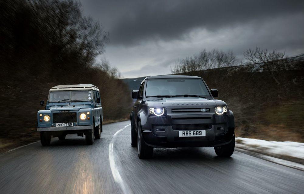 Land Rover Defender a primit un motor V8 supraalimentat. Unitatea dezvoltă 525 de cai putere - Poza 4