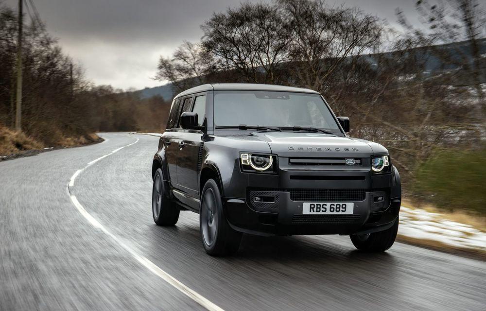 Land Rover Defender a primit un motor V8 supraalimentat. Unitatea dezvoltă 525 de cai putere - Poza 16