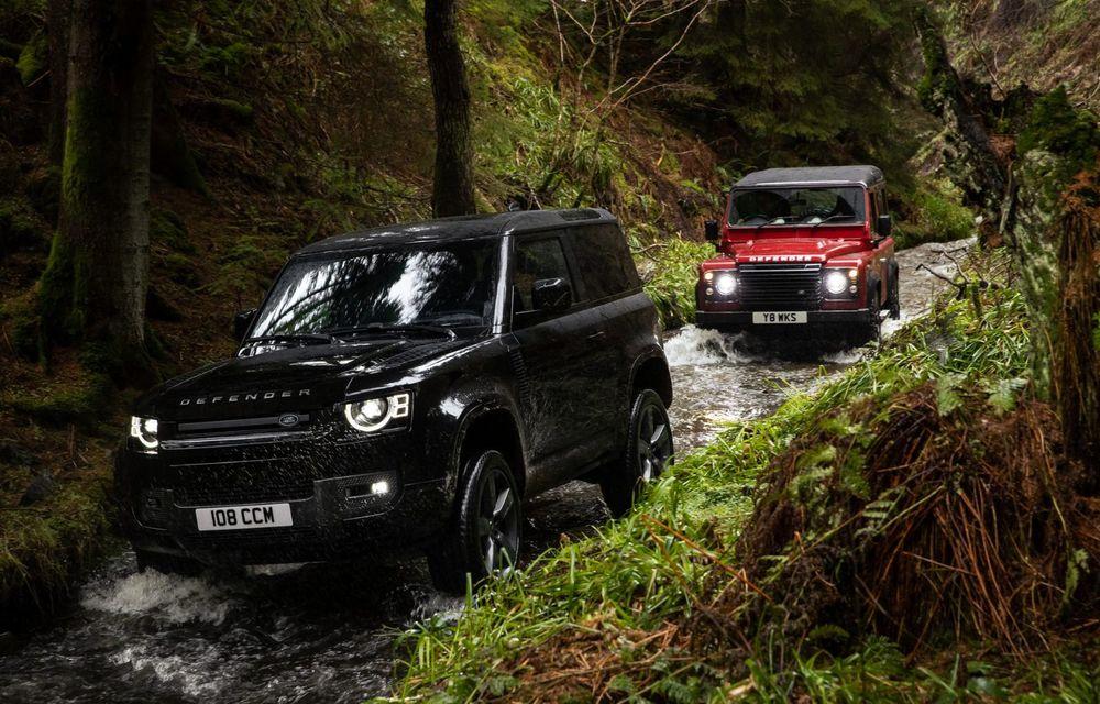 Land Rover Defender a primit un motor V8 supraalimentat. Unitatea dezvoltă 525 de cai putere - Poza 8