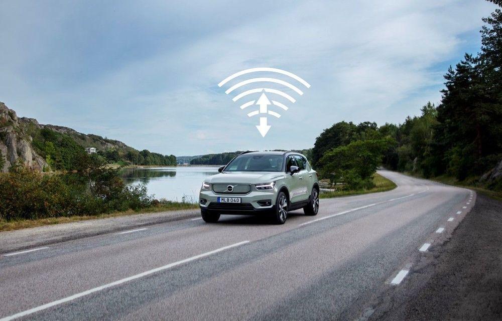Prima actualizare over-the-air pentru Volvo XC40 Recharge: SUV-ul electric primește funcții noi și îmbunătățiri la sistemul de propulsie - Poza 1
