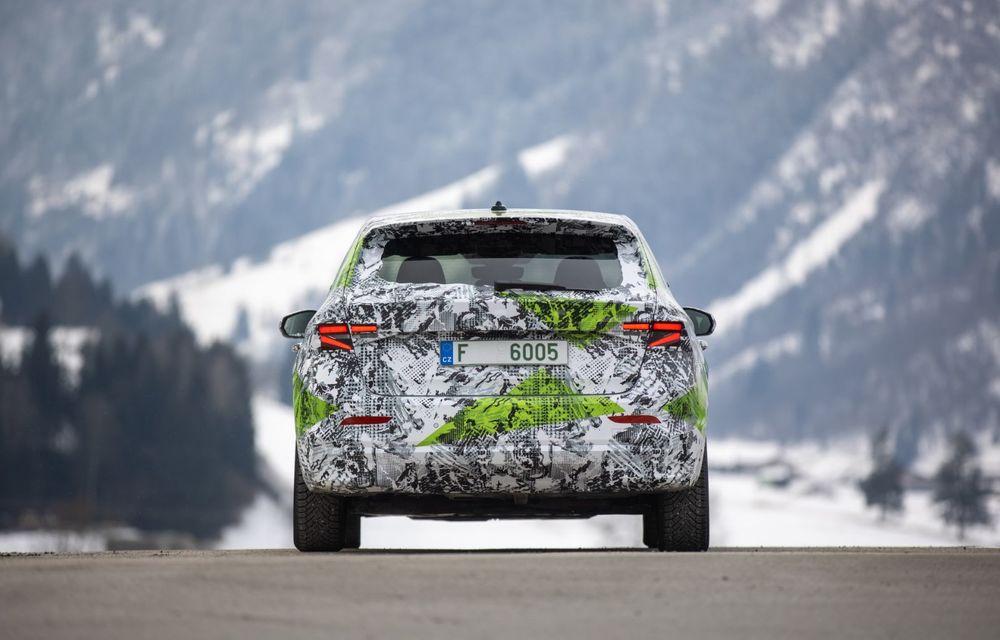 Detalii complete despre noua Skoda Fabia: platformă nouă și gamă de motorizări fără diesel - Poza 5
