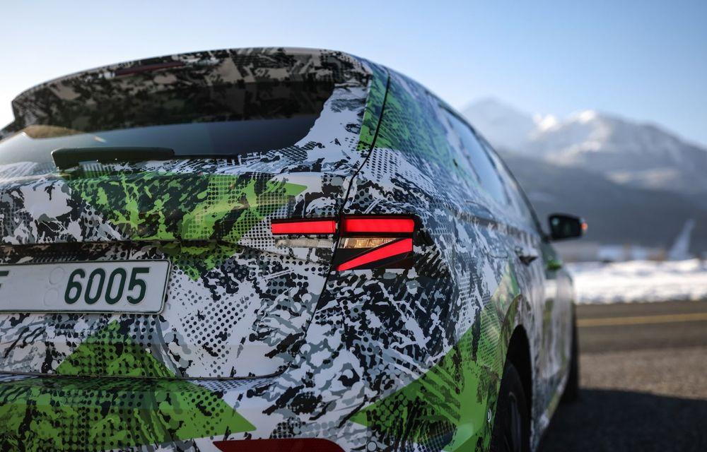 Detalii complete despre noua Skoda Fabia: platformă nouă și gamă de motorizări fără diesel - Poza 13