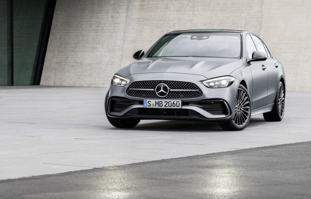 """Mercedes: """"Versiunea electrică a lui Clasa C va fi lansată cel mai devreme în 2024"""" - Poza 1"""