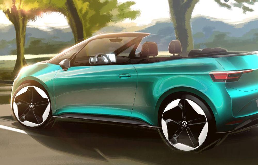 """Volkswagen se gândește la un ID.3 decapotabil și întreabă publicul: """"Ce părere aveți?"""" - Poza 2"""