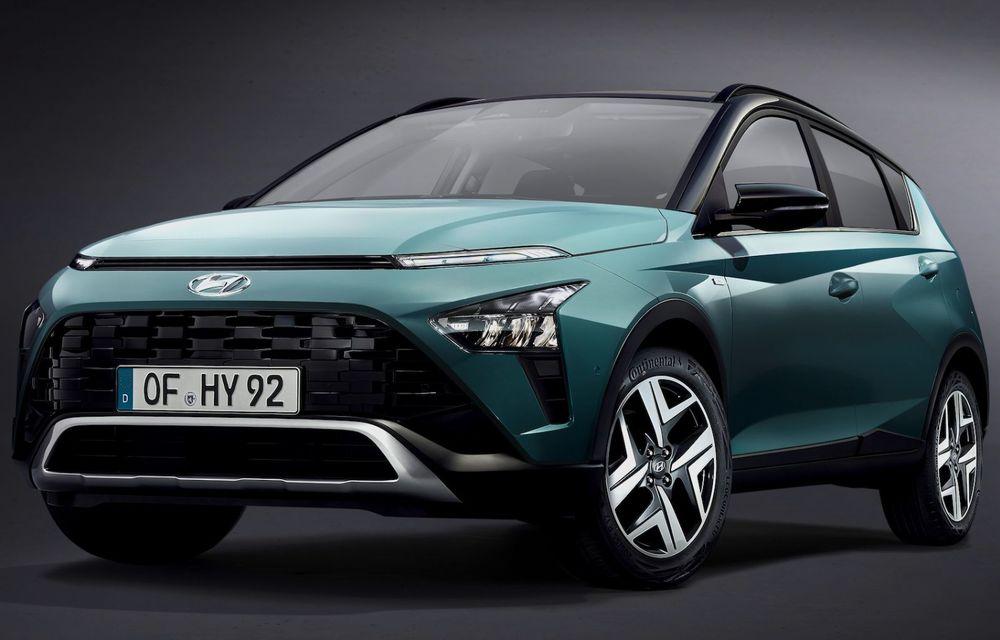 OFICIAL: Hyundai Bayon debutează ca rival pentru Ford Puma și Nissan Juke - Poza 1