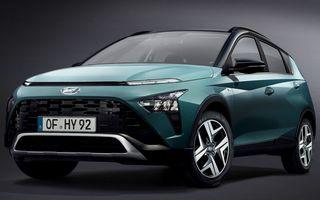 OFICIAL: Hyundai Bayon debutează ca rival pentru Ford Puma și Nissan Juke