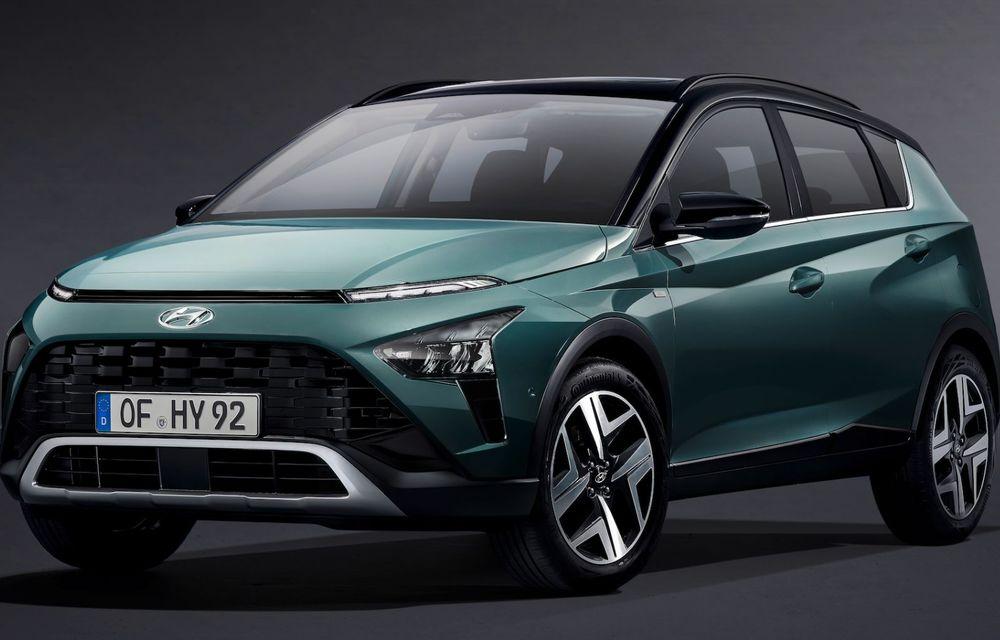 OFICIAL: Hyundai Bayon debutează ca rival pentru Ford Puma și Nissan Juke - Poza 2