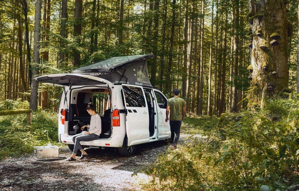 Noul Opel Zafira Life Crosscamp este o autorulotă: are chicinetă la bord și trei paturi - Poza 2