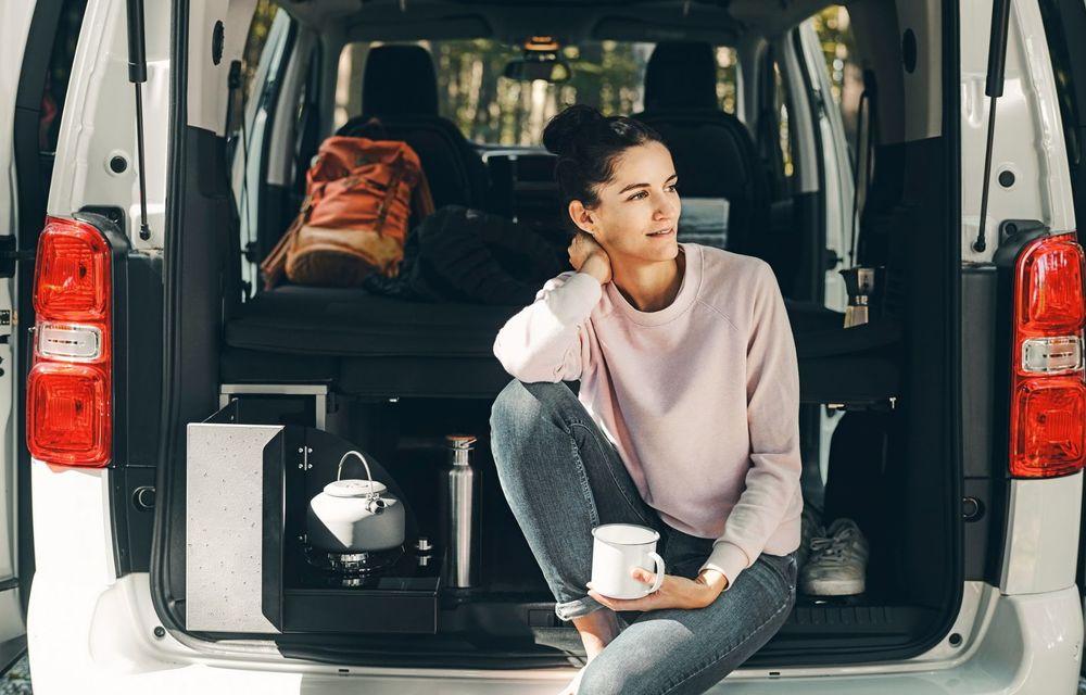 Noul Opel Zafira Life Crosscamp este o autorulotă: are chicinetă la bord și trei paturi - Poza 3