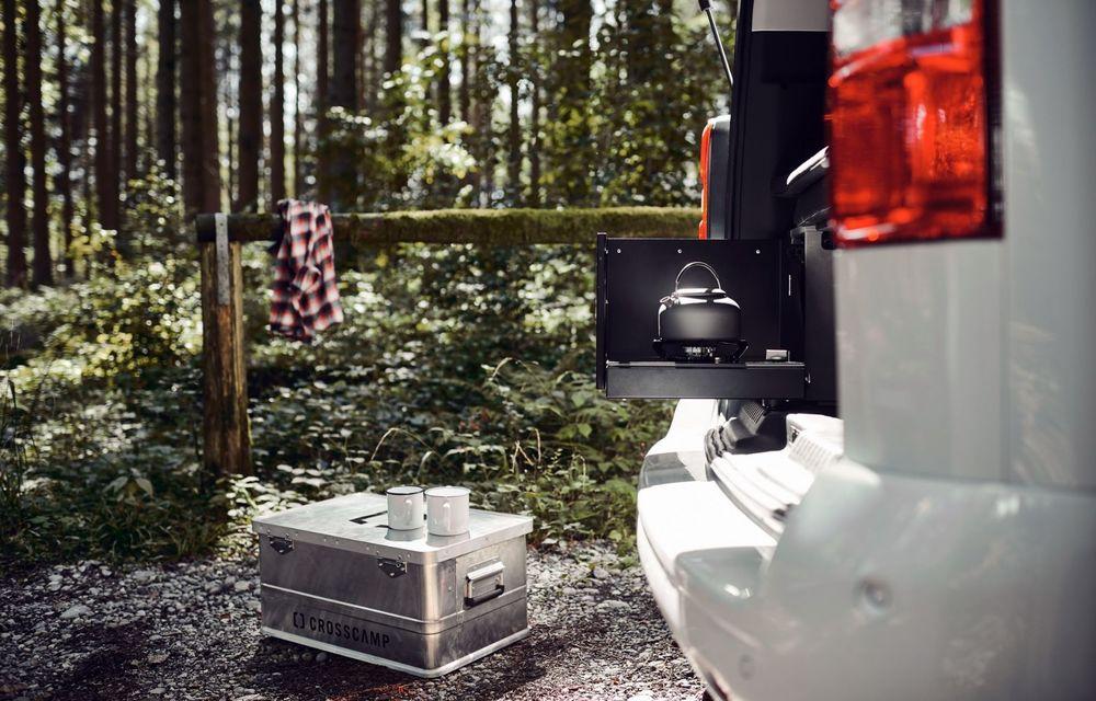 Noul Opel Zafira Life Crosscamp este o autorulotă: are chicinetă la bord și trei paturi - Poza 4