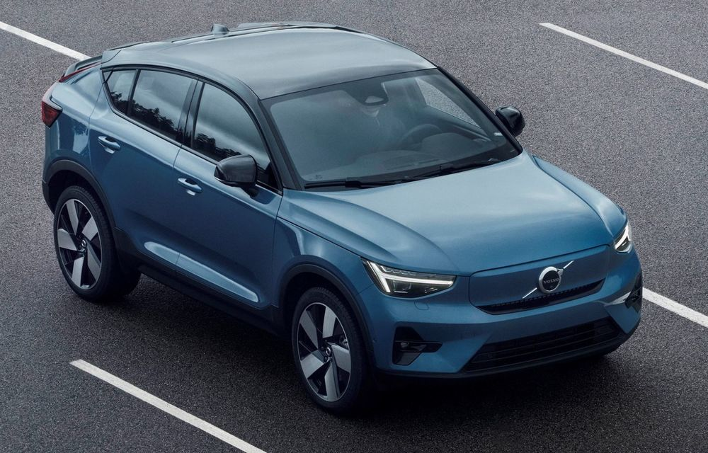 Noul Volvo C40 Recharge: SUV coupe 100% electric cu autonomie de 420 de kilometri - Poza 24