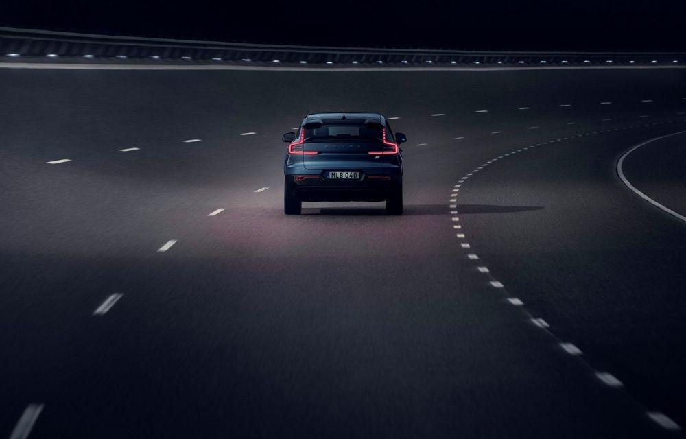 Noul Volvo C40 Recharge: SUV coupe 100% electric cu autonomie de 420 de kilometri - Poza 22