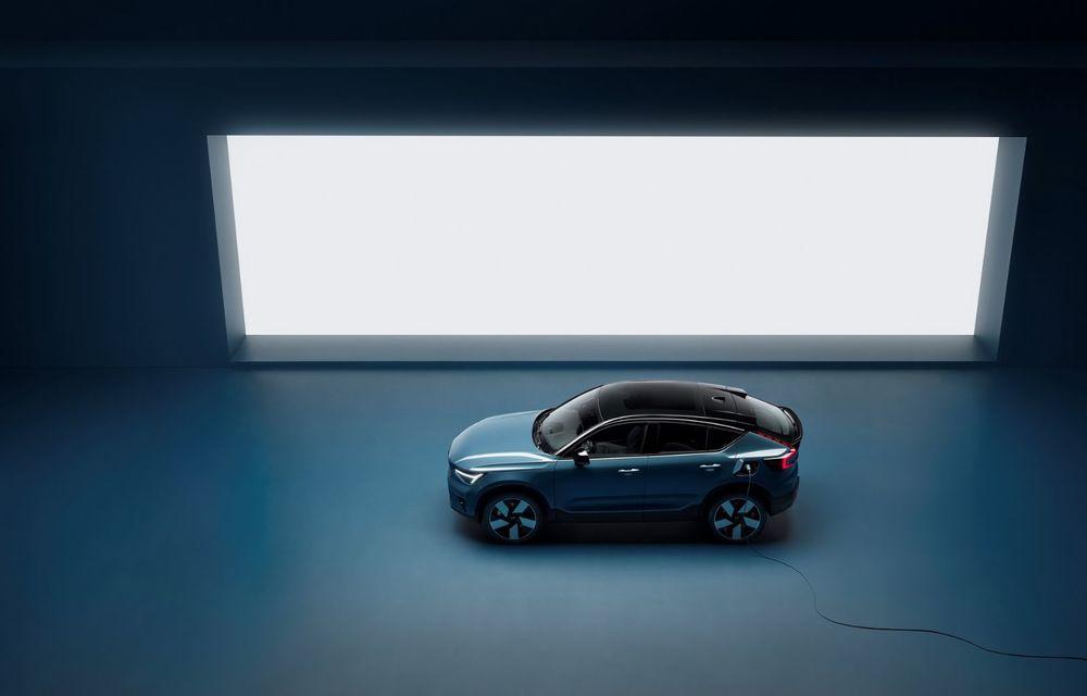 Noul Volvo C40 Recharge: SUV coupe 100% electric cu autonomie de 420 de kilometri - Poza 11