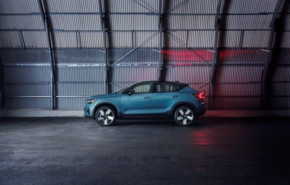 Noul Volvo C40 Recharge: SUV coupe 100% electric cu autonomie de 420 de kilometri - Poza 20