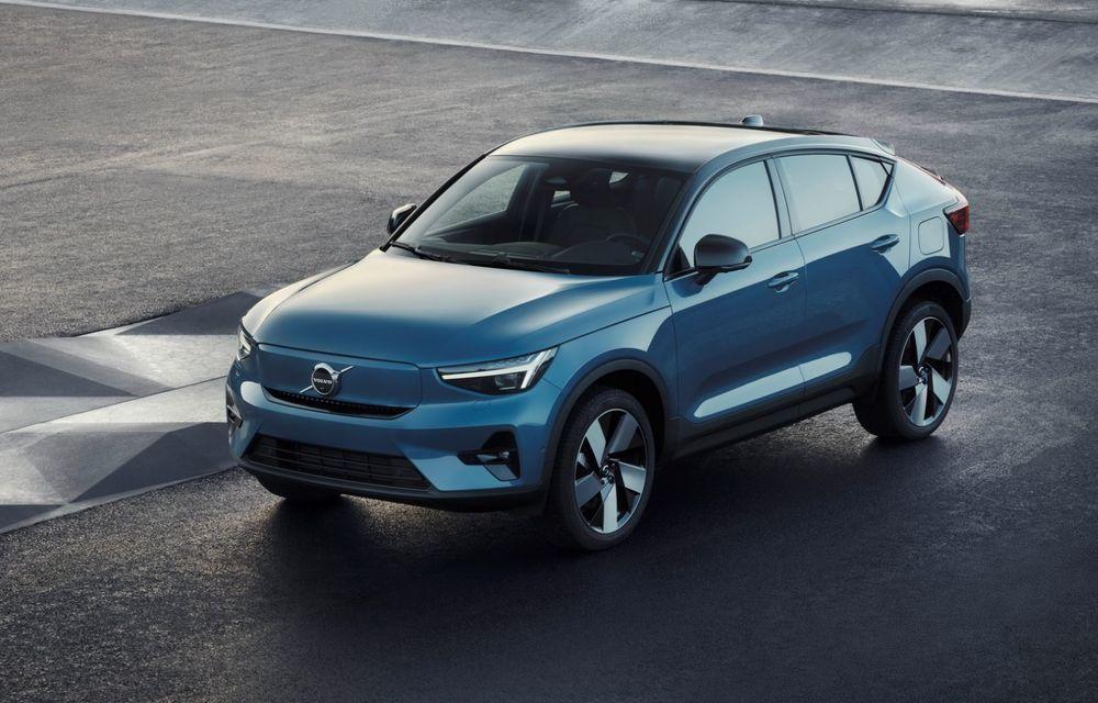 Noul Volvo C40 Recharge: SUV coupe 100% electric cu autonomie de 420 de kilometri - Poza 25