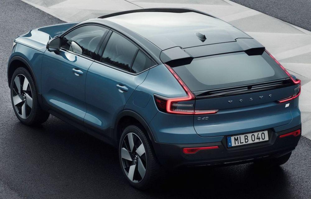 Noul Volvo C40 Recharge: SUV coupe 100% electric cu autonomie de 420 de kilometri - Poza 27