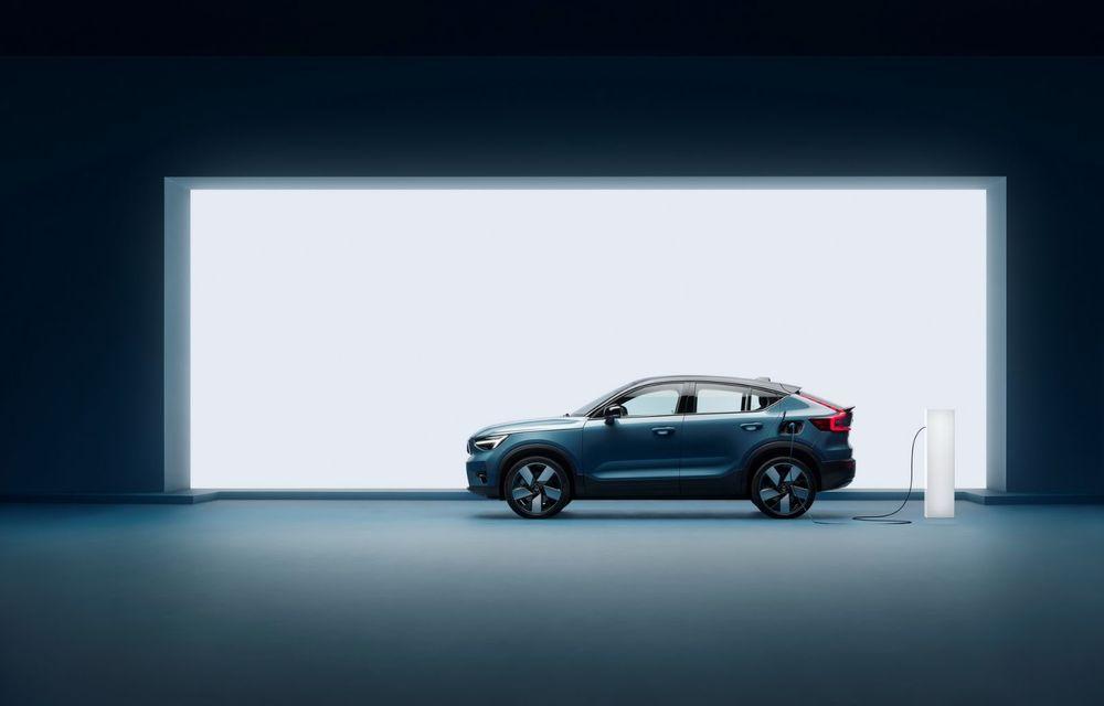 Noul Volvo C40 Recharge: SUV coupe 100% electric cu autonomie de 420 de kilometri - Poza 5