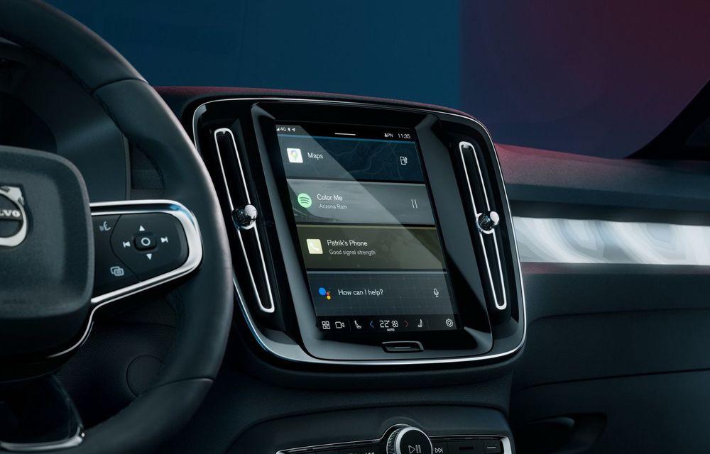 Noul Volvo C40 Recharge: SUV coupe 100% electric cu autonomie de 420 de kilometri - Poza 23