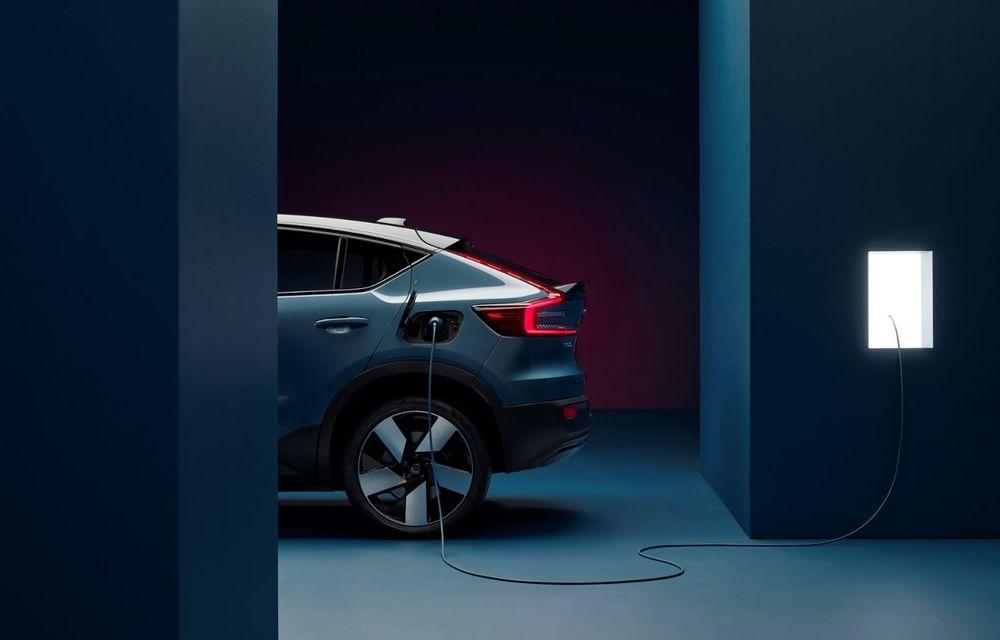 Noul Volvo C40 Recharge: SUV coupe 100% electric cu autonomie de 420 de kilometri - Poza 7