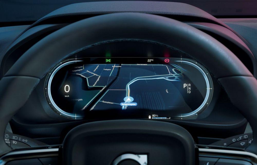 Noul Volvo C40 Recharge: SUV coupe 100% electric cu autonomie de 420 de kilometri - Poza 34