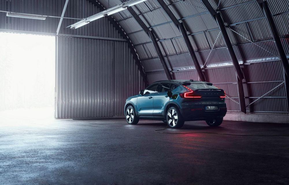 Noul Volvo C40 Recharge: SUV coupe 100% electric cu autonomie de 420 de kilometri - Poza 17