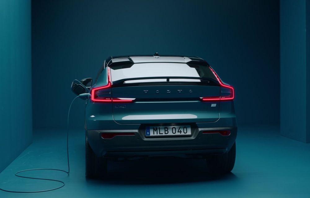 Noul Volvo C40 Recharge: SUV coupe 100% electric cu autonomie de 420 de kilometri - Poza 2