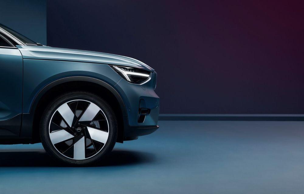 Noul Volvo C40 Recharge: SUV coupe 100% electric cu autonomie de 420 de kilometri - Poza 14
